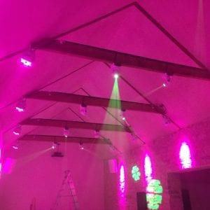 Private nightclub sound installation