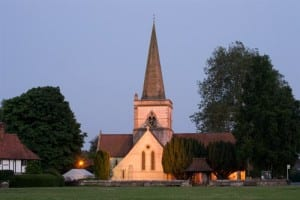 Christchurch Brockham Green with Old Barn Audio and Martin Audio