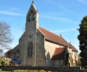 St Johns Church In Felbridge