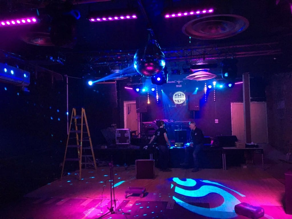 Lighting systems for nightclubs