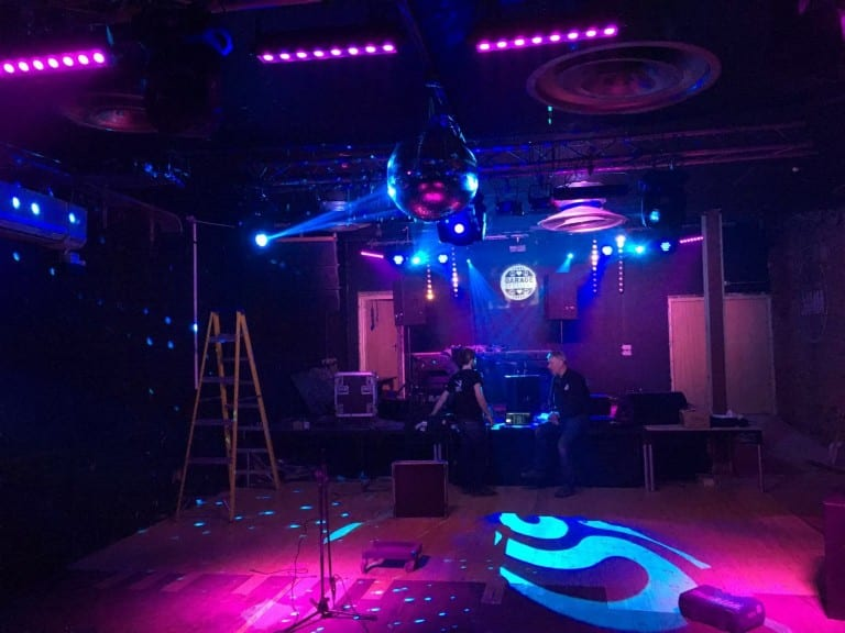 Brixton Jamm Sound and Lighting by Old Barn Audio
