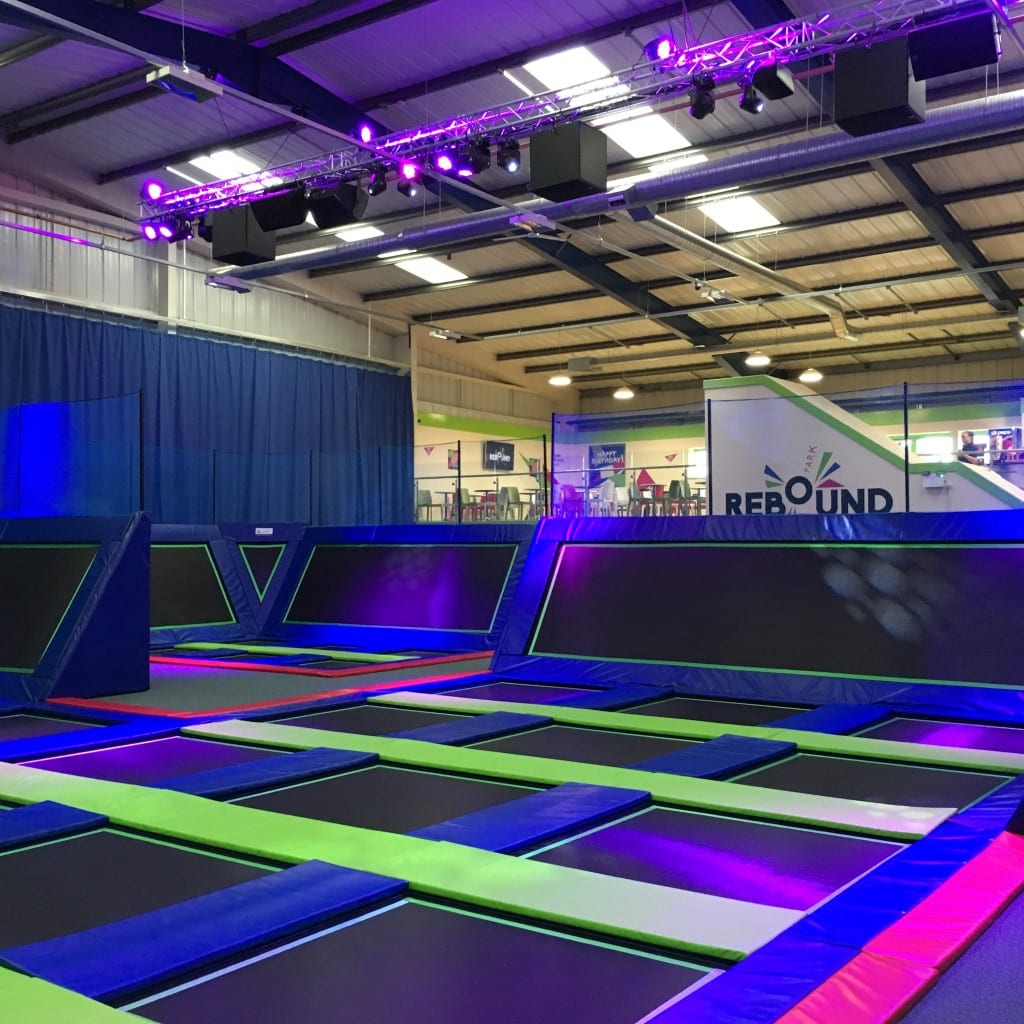 Sound Systems for Trampoline Centres