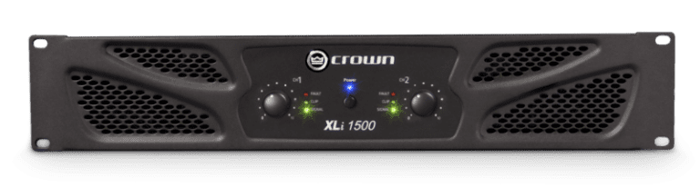 Crown XLi 1500 Amplifier
