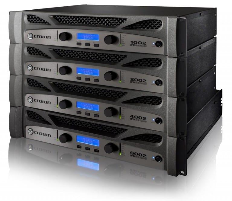 Crown XTi Series Amplifiers