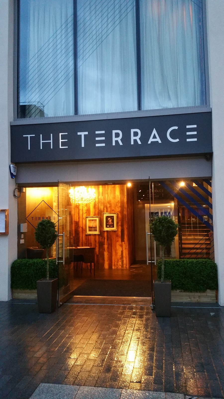 Some great images of the terrace in exeter old barn audio for Use terrace in a sentence