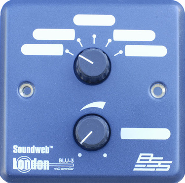 BSS BLU-3 wall mounted controller