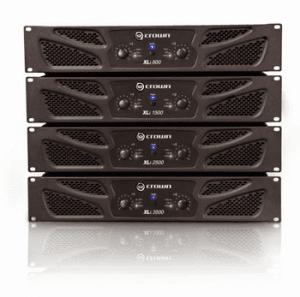 Crown XLi Series Amplifiers