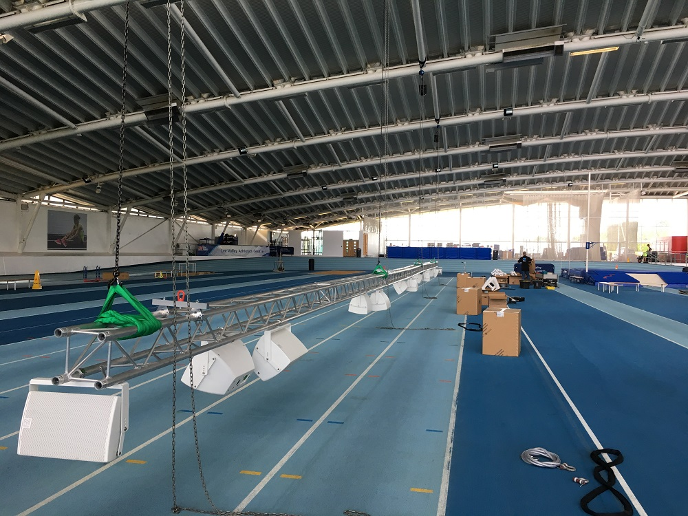 Lee Valley Athletics Centre Sound Systems For Sporting