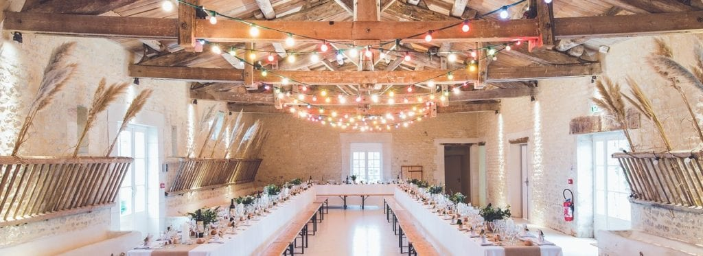 Background Music Systems in a wedding venue