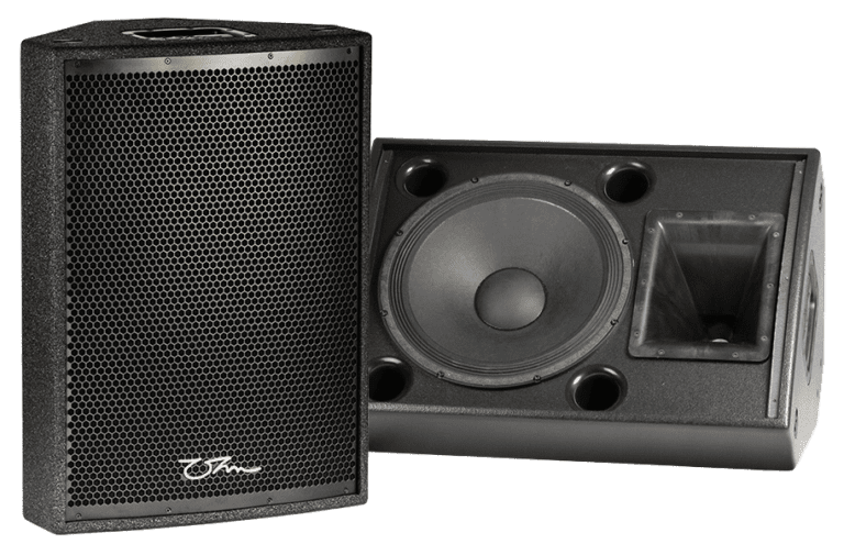 OHM TRS-115 speakers