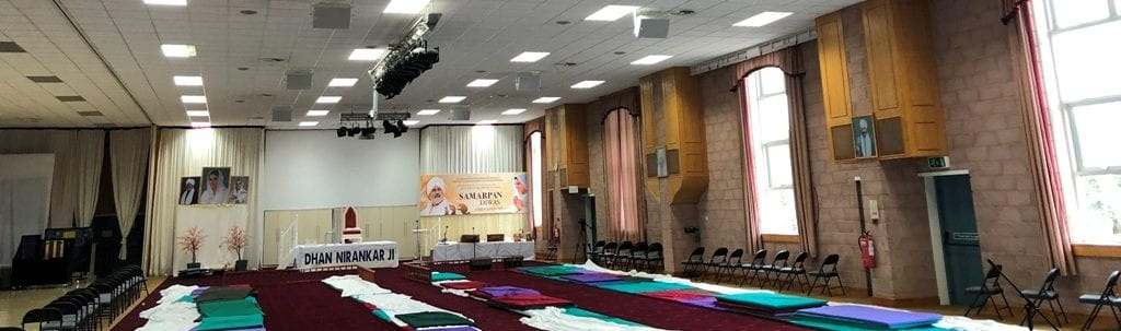 House of worship sound systems