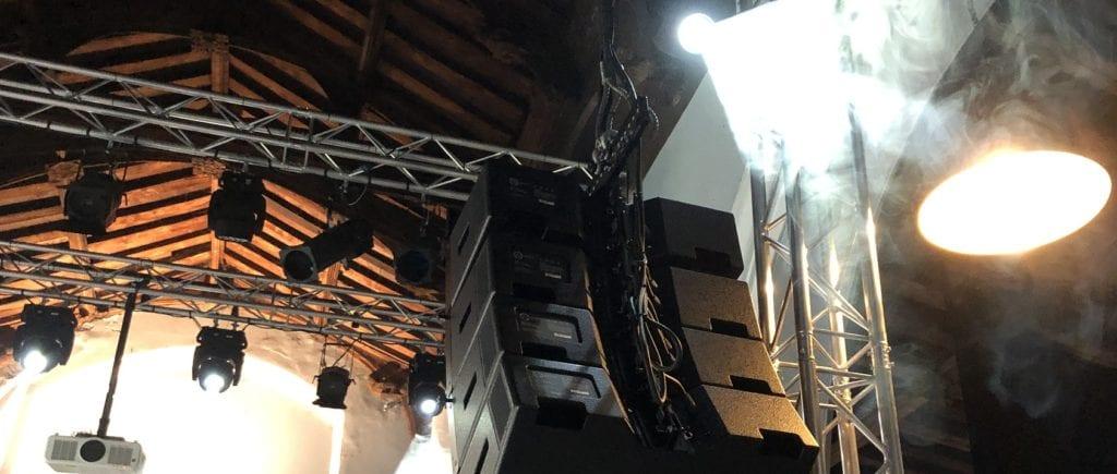 Sound & lighting installations