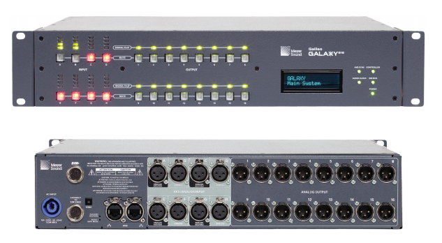 Meyer Sound Galileo GALAXY 816 Processor